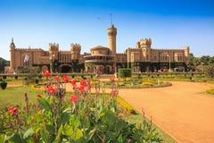 Bangalore palace and gardens. Bangalore palace built as smaller version Windsor castle, Karnataka , India Royalty Free Stock Photos
