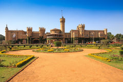 Bangalore palace and gardens. Bangalore palace built as smaller version Windsor castle, Karnataka , India Royalty Free Stock Photography