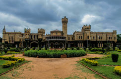 Bangalore palace of the Maharaja family Stock Photography