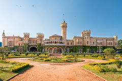 The Bangalore palace in southern Karnataka, India royalty free stock photography