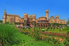 Bangalore-Palast in Indien lizenzfreie stockbilder