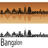 Bangalore skyline Stock Photos