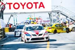 ?Bangasen o festival da velocidade de Tailândia Foto de Stock Royalty Free