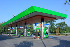Bangchak Oil station Stock Images