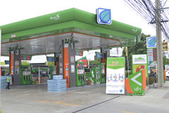 Bangchak Petroleum station Royalty Free Stock Photography