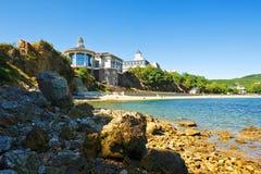 Bangchui island villa landscape dalian Stock Photography
