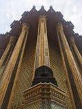 Bangcoc asia trip. Buda Grand palace in bangkok Stock Photography