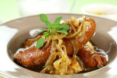 Bangers And Mash Stock Photo