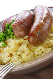 Bangers and Mash Royalty Free Stock Images