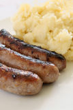 Bangers and Mash Stock Images