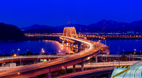 Banghwa桥梁 库存图片
