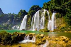 Bangioc-Wasserfall in Caobang, Vietnam Lizenzfreie Stockfotos