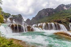 Bangiocwaterval in Caobang, Vietnam Stock Afbeelding