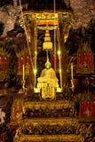 bangk在kaeo phra寺庙wat里面的菩萨绿宝石 免版税库存图片