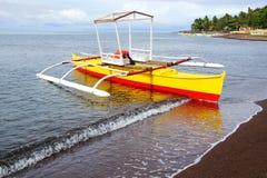 Bangka στο νησί, Φιλιππίνες Στοκ φωτογραφία με δικαίωμα ελεύθερης χρήσης