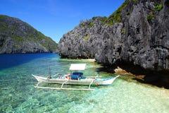 Bangka in Insel, Philippinen lizenzfreies stockbild