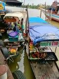 Bangklamarket стоковые фотографии rf