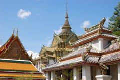 Bangkog. The royal palace in bangkog Royalty Free Stock Photo