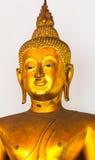 bangkok Таиланд Золотой Будда в виске Wat Pho Стоковая Фотография