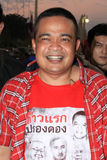 BANGKOK - 10. DEZEMBER: Rote Hemd-Protest-Demonstration - Thailand Lizenzfreies Stockbild