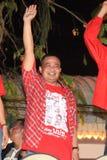 BANGKOK - 10 DICEMBRE: Dimostrazione rossa di protesta delle camice - Tailandia Fotografie Stock