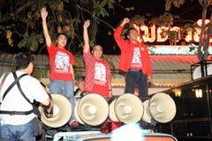 BANGKOK - 10 DICEMBRE: Dimostrazione rossa di protesta delle camice - Tailandia Immagini Stock