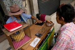 BANGKOK, - 10 FÉVRIER : An neuf chinois 2013 - célébrations dedans Image libre de droits