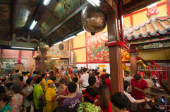 BANGKOK, - 10 FÉVRIER : An neuf chinois 2013 - célébrations dedans Image stock