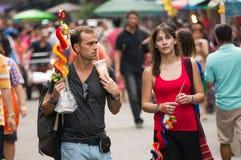BANGKOK, - 10 FÉVRIER : An neuf chinois 2013 - célébrations dedans Photographie stock libre de droits