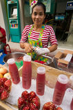 BANGKOK, - 10. FEBRUAR: Chinesisches Neujahrsfest 2013 - Feiern herein Lizenzfreies Stockfoto