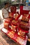 BANGKOK, - 10 FEBRUARI: Chinees Nieuwjaar 2013 - Vieringen binnen Stock Afbeeldingen