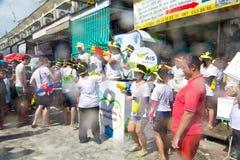 BANGKOK - 2012 APRIL 13: Songkran Festival Royalty Free Stock Image