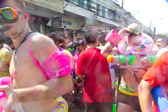 BANGKOK - 2012 APRIL 13: Songkran Festival Royalty Free Stock Photos