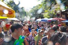 BANGKOK - 2012 APRIL 13: Songkran Festival Royalty Free Stock Photo