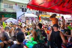 BANGKOK - 2012 APRIL 13: Songkran Festival Stock Photo