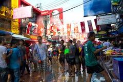 BANGKOK - 2012 APRIL 13: Songkran Festival Royalty Free Stock Photography