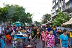 BANGKOK - 2012 APRIL 13: Songkran Festival Stock Photography