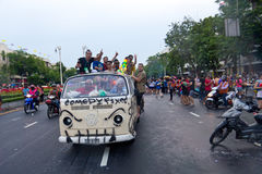 BANGKOK - 2012 APRIL 13: Songkran Festival Royalty Free Stock Images
