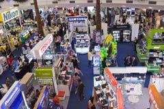 BANGKOK - 23 DÉCEMBRE : Enregistrements électroniques d'exposition. le 23 décembre 2012 je Images libres de droits