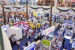 BANGKOK - 23. DEZEMBER: Elektronische Sätze der Ausstellung. am 23. Dezember 2012 ich Stockfoto