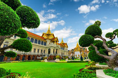Bangkok. Royal grand palace in Bangkok Stock Images