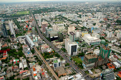 Bangkok. 'Bangkok'city of thailand .bird eye view royalty free stock photos