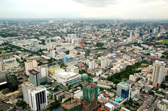Bangkok. 'Bangkok'city of thailand .bird eye view royalty free stock image