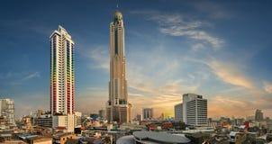 городской пейзаж bangkok Стоковые Фото