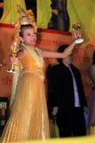 BANGKOK - 5 DÉCEMBRE : Birthday Celebration du Roi - Thaïlande 2010 Images libres de droits
