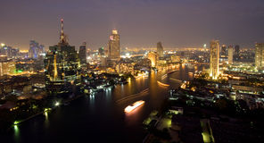 Bangkok. One of nightscene in bangkok Stock Photography