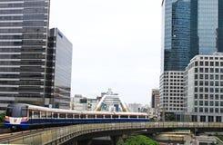 BANGKOK - 7. JULI: BTS lizenzfreies stockbild