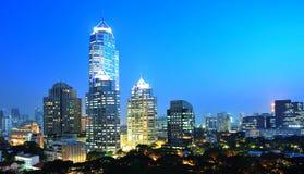 ноча bangkok Стоковое фото RF