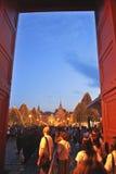 Bangkok 8. Dezember: Der großartige Palast Lizenzfreie Stockfotos