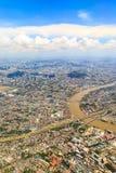 Bangkok on above Royalty Free Stock Photo